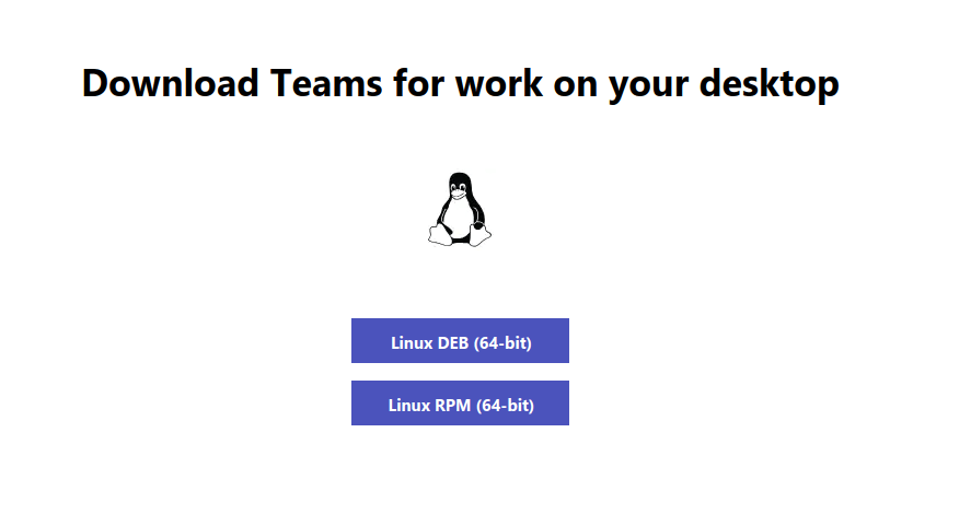 Download Microsoft Teams for Linux