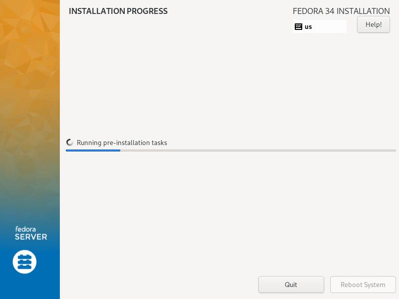Fedora Installation