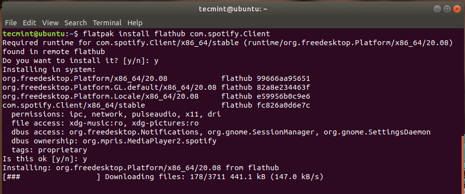 Install Apps from Flathub