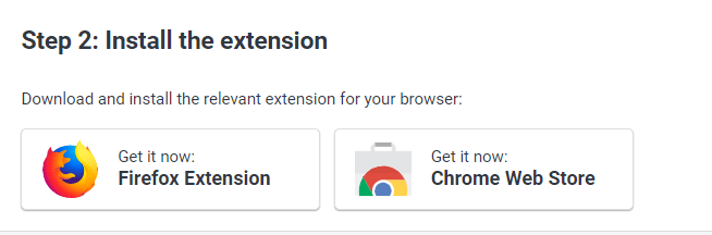 Install Browser Extension