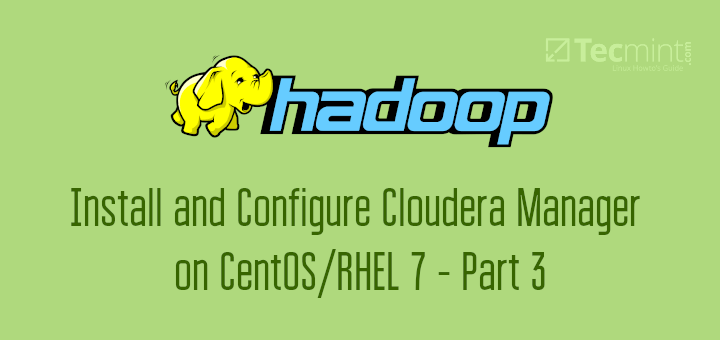 Install Cloudera Manager in CentOS