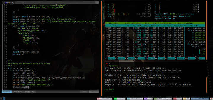 i3 Tiling Window Manager for Linux
