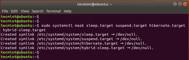 Disable Suspend and Hibernation in Ubuntu