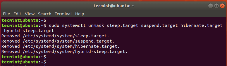 Enable Suspend and Hibernation in Ubuntu