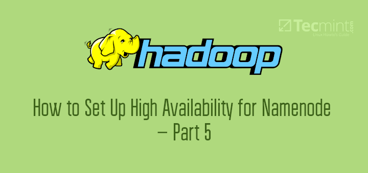 Set Up High Availability for Namenode