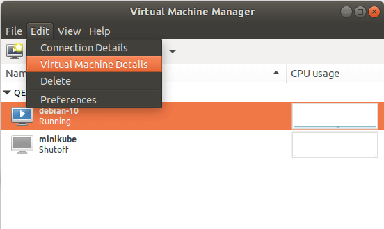 Check Virtual Machine Hardware