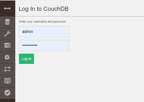 CouchDB Login