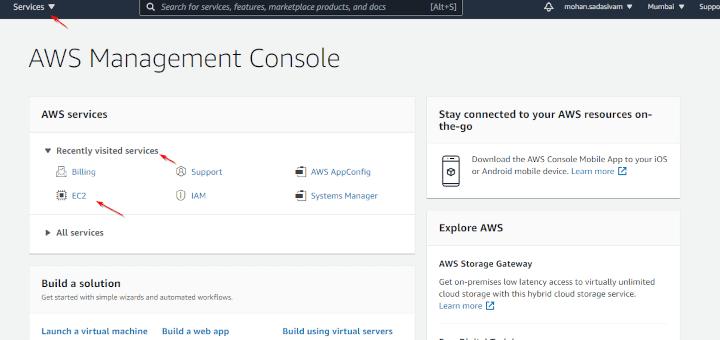 Install CentOS Stream in AWS EC2