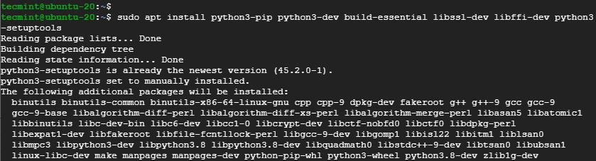 Install Pip in Ubuntu