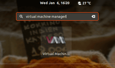 Launch Virt-Manager