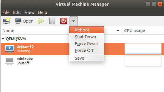 Manage KVM Virtual Machines