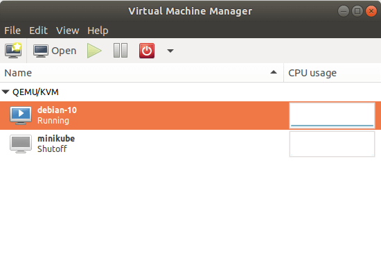 Running KVM Virtual Machines