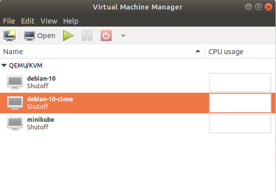Virtual Machine Clone