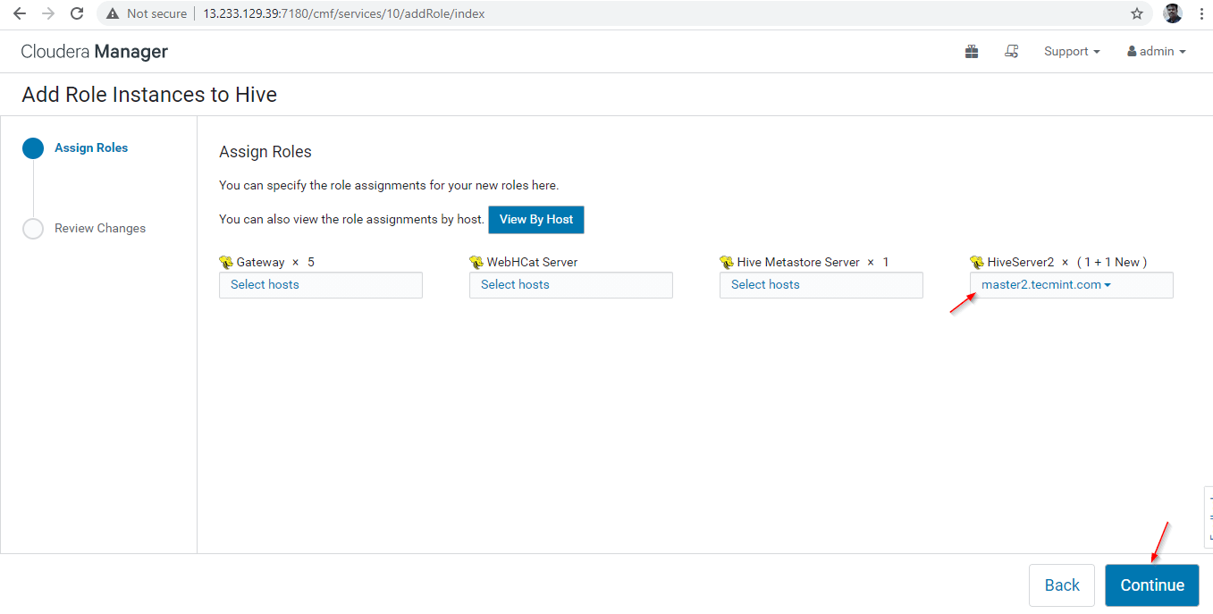 Server Added