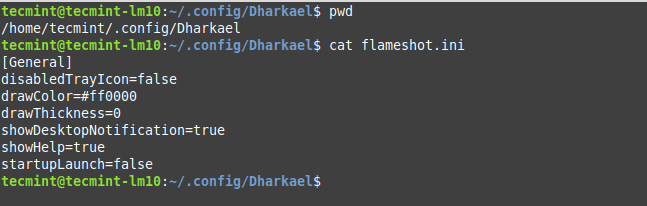 Flameshot Configuration File