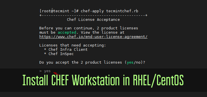 Install CHEF Workstation in CentOS