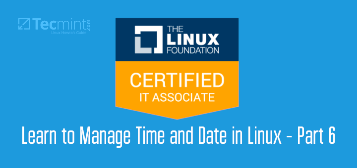 Manage Time and Date in Linux