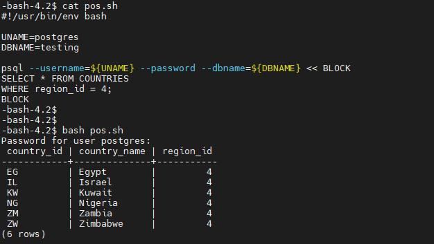 Running SQL QUERY