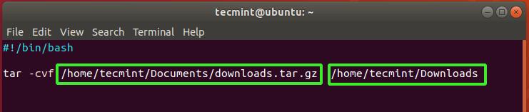 File Backup Script