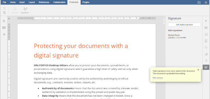 Digitally Sign Documents in Linux