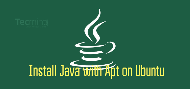 Install Java with Apt in Ubuntu