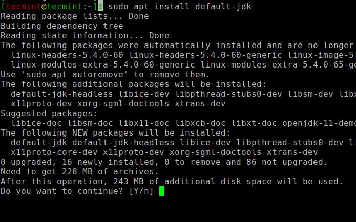 Install OpenJDK in Ubuntu