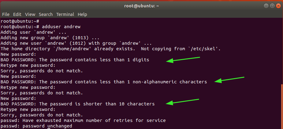 Create New User in Linux