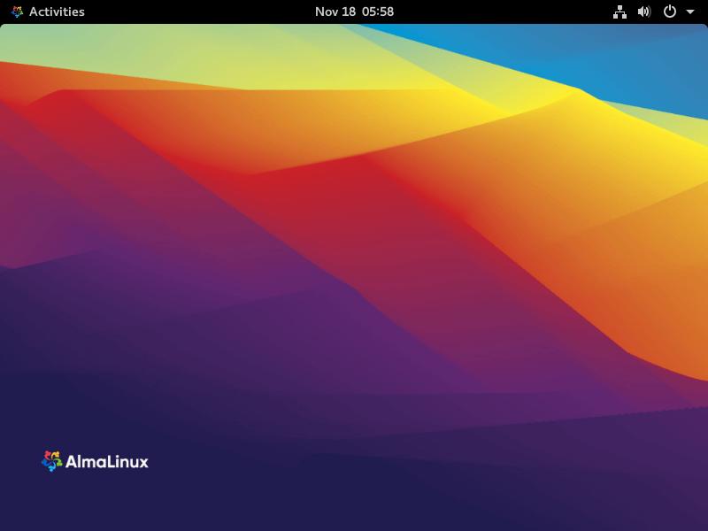 AlmaLinux Desktop