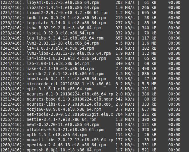 Migrating CentOS 8 to AlmaLinux