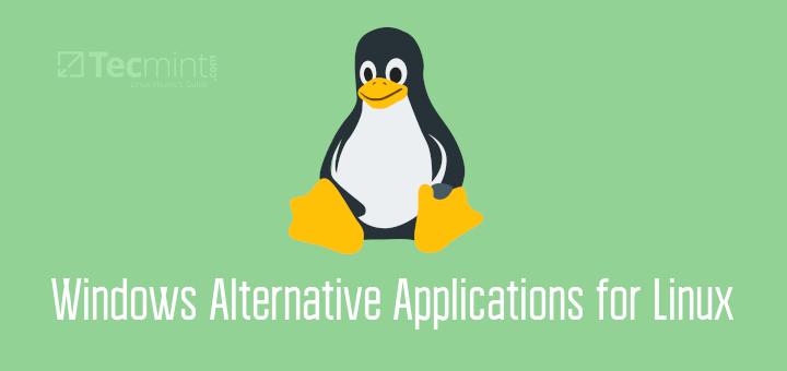 Windows Alternatives for Linux