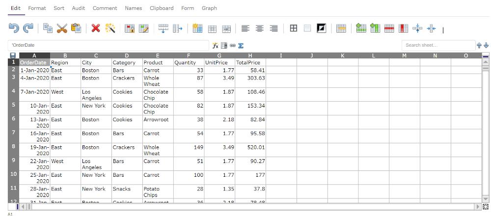 EtherCalc Online Spreadsheet