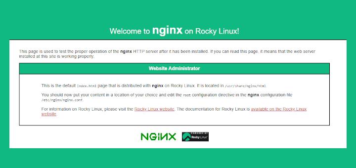 Install LEMP on Rocky Linux