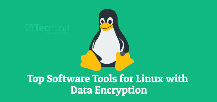 Linux Software with Data Encryption