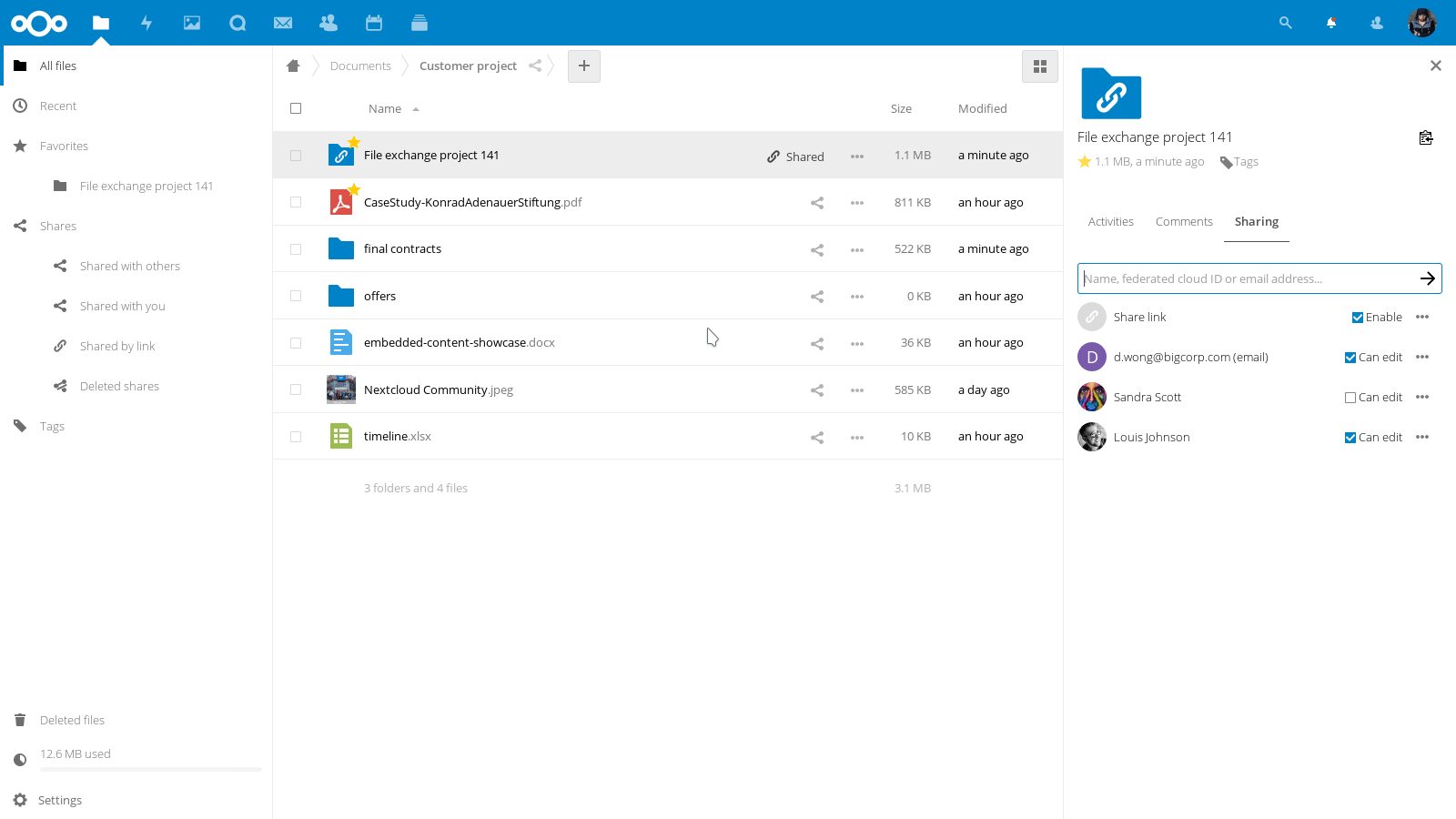 Nextcloud - Secure File Sharing for Linux