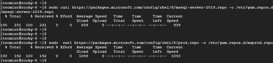 Agregar el repositorio de Microsoft SQL Server