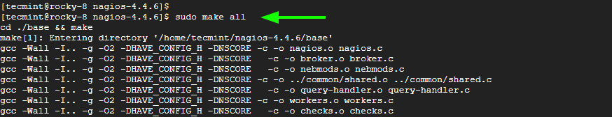 Compile Nagios in Linux