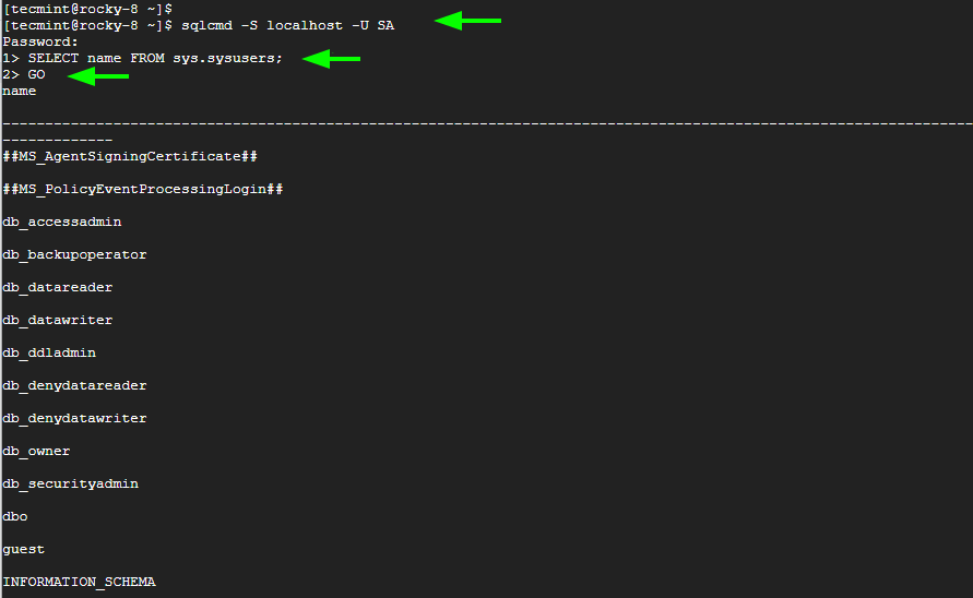 Conectarse a SQL Server
