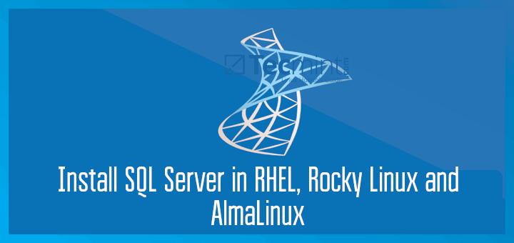 Install MS SQL Server on Linux