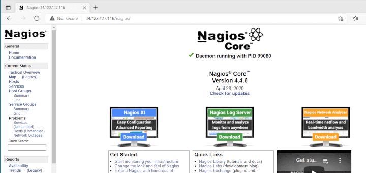Install Nagios in Linux