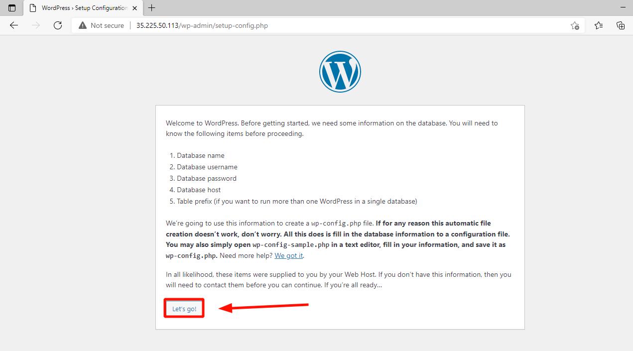 Instalar WordPress en Rocky Linux