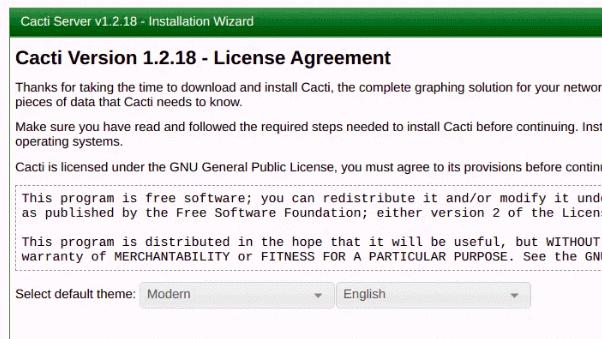 Cacti Agreement