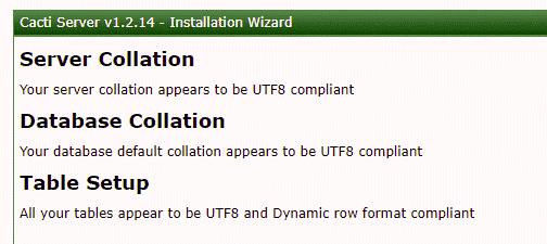Cacti UTF8